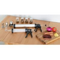 """Cheap Stainless Steel Jerky Shooter With 3 Chorm Plated Rack / 18"""" X 13"""" Aluminum Pan for sale"""