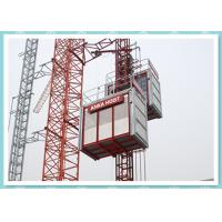 Quality CE Material Hoisting Equipment , Passenger And Material Hoist Used In Building / Construction wholesale