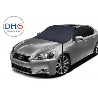 China Breathable Waterproof Outdoor Car Cover Customized Logo Windshield on sale
