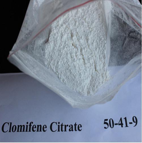 Cheap Serm Anti Estrogen Steroids Powder Clomifene Citrate Clomid CAS 50-41-9 for sale