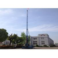 Cheap XPG-65 long mast jet grouting drilling rig single double triple jet grouting for sale