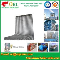 Quality High Pressure CFB Boiler Water Wall Panels  Water Tube ASME with Certification wholesale