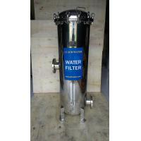 """Quality 150psi 10bar 40"""" PP Industrial Micro Filter Housing For CIP / Pretreatment wholesale"""