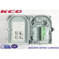 Quality FTTH 24 Port Fiber Optic Terminal Box  KCO-FDB-24G Outdoor Water Proof ABS PC Material wholesale