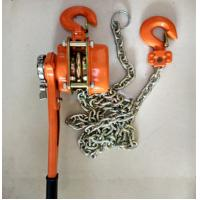 Quality Capacity 6 ton lever chain hoist  Cable Pulling Tools height 1.5m chain dia 10mm wholesale