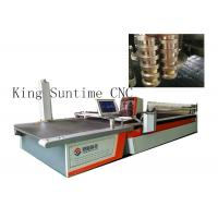 Buy cheap Multi - Layer Automatic Cloth Cutting Machine 4000rpm / Min Blade Working product