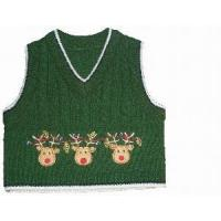 Quality Boy′s Knitted Vest, Cable Sweater (SFY-A044) wholesale