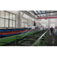 Quality Color Steel PU Sandwich Panel Machine With PU Foaming wholesale