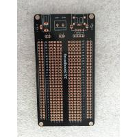 Quality 1.5mm OPS Black Universal Prototype PCB Board 105 * 55mm Short Circuit Protection wholesale