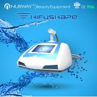 Quality new arrival!! NUBWAY body slimming ultrasound portable machine HIFUSHAPE for sale wholesale