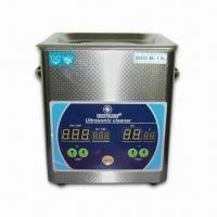 Quality 1.8L Ultrasonic Cleaner with 50W Power, Adopts Digital Display Timing and Heating Function wholesale