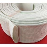 Quality Extrusion Silicone Fiberglass Sleeving , Silicone Fiber Glass Sleeves wholesale