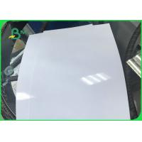 Cheap Real Color 260gsm One - Side Glossy Photo Paper / Inkjet Photo Printing Paper for sale