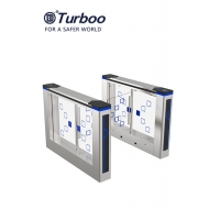 Quality 35w Pedestrian Barrier Gate Turnstile 100-240V Pass Width 600-900mm With Brushed Motor wholesale
