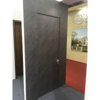 Quality Italy Style 45mm Aluminum HPL Frameless Door for American Villa Market wholesale