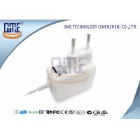 Quality Medical Grade EU Plug Power Adapter 5v 1a , White Medical Switching Adapter wholesale