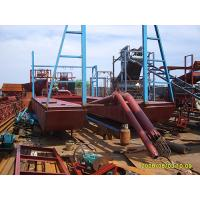 Quality jet suction type river sand gold panning boat wholesale