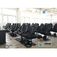 Quality Special Effects 6D Cinema Equipment With Black And White Design wholesale