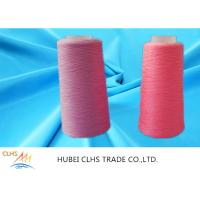Quality High Strength Ring Twist Dyed Polyester Yarn Smooth Surface Well Sewing Performance wholesale