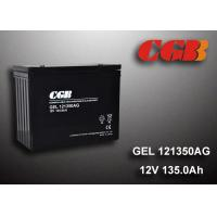 Quality 12V 135AH AGM Gel Lead Acid Battery , Energy Storage Battery For Solar Wind Application wholesale