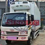 Quality 8 - 12 Tons Refrigerated Box Truck, 6 Wheels 4x2 Drive Freezer Box Truck wholesale