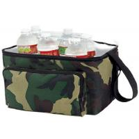 Quality OEM Design Nylon Material Insulated Wine Cooler Bag Double Deck Cooler Bag wholesale