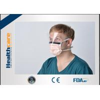 Quality 2020 China New pneumonia Disposable Surgical Mask With Tie and Anti Fog Visor Grand A Carbon Strip wholesale
