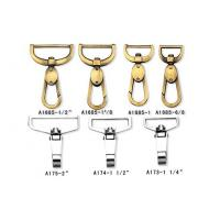 Quality Snap Hook Metal Keychains Hang Small Gourd Zinc Alloy Key Chain Buckle Handbag wholesale