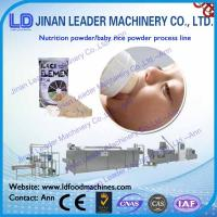 China Walnut meat baby pumpkin fruit and vegetable rice nutrition mixed production line on sale