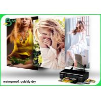 China 260GSM RC Glossy / Satin / Lustre Photo Paper 1070mm X 30m Roll for sale
