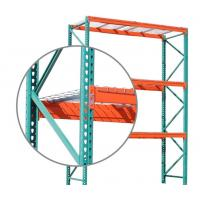 Buy cheap Industrial Selective Pallet Racking Systems Teardrop Style 700 - 1200mm Racking from wholesalers