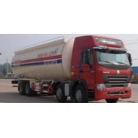 Quality 350hp White And Red Color Liquid Tank Truck , Oil Tanker Truck 8x4 40000L wholesale