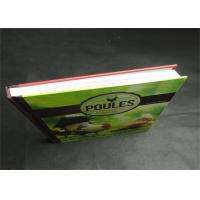 Quality Eco-friendly Greyboard Hardcover Book Printing Services Embossing 1800gsm wholesale