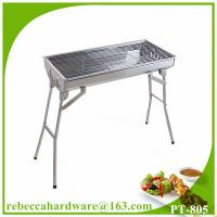 China Stainless Steel Large Folding Barbecue Grill for Camping on sale