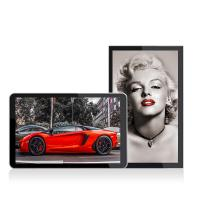 China 32 inch indoor fhd super slim wall mount elevator electronic LCD advertising screen on sale