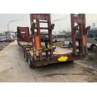 Quality Heavy Duty Used Construction Machinery HOWO Truck Tractor With Flatbed Trailer Transportation wholesale