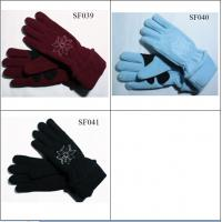 Quality ladies fashion gloves SF039-SF041 high quality and good price women gloves wholesale