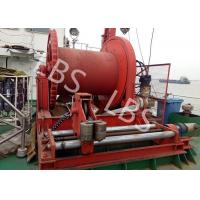 Quality High Efficient 20 Ton Anchor Marine Electric Winch With Spooling Device wholesale