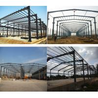 Quality Durable Prefab Metal Sheds , Stoving Varnish Steel Structure Prefabricated House wholesale