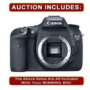 China Canon EOS 7D 18MP HD Digital SLR Camera Body D7 NEW USA-canon camcorder-canon 400d on sale