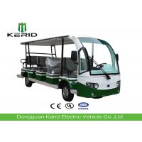 High Performance Electric Sightseeing Car with Spacious Seat For 14 Passengers