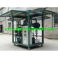Quality High Reliability Weather-Proof Enclosed Type Transformer Oil Purifying Machine wholesale