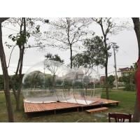 Quality Hotel Clear Inflatable Bubble Tent , Outdoor Inflatable Transparent Tent For Camping wholesale