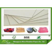 Quality Stock Hard Paper Stiffness 1.5mm Grey Paperboard Sheet of Mixed Pulp wholesale