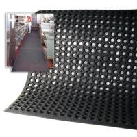 Quality Honeycomb Anti-slip Rubber Mat , Drainage Rubber Mat wholesale