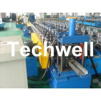 Quality 75mm Roller Diameter, 7.5KW Steel Security Door Frame Roll Forming Machine wholesale