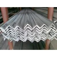 China V Shaped 304 Polished Stainless Steel SS Angle Bar Structural Angle Bar Iron on sale