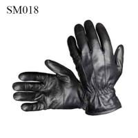 Quality Men sheep leather gloves high quality at cheap price SM018 men leather glove warm gloves wholesale