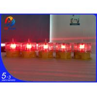 Quality Solar powered aviation obstruction light/solar warning marking light/solar obstruction light wholesale