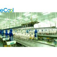 Quality Integrated Industrial Cold Storage For Poultry , 1000 Tons Productivity wholesale